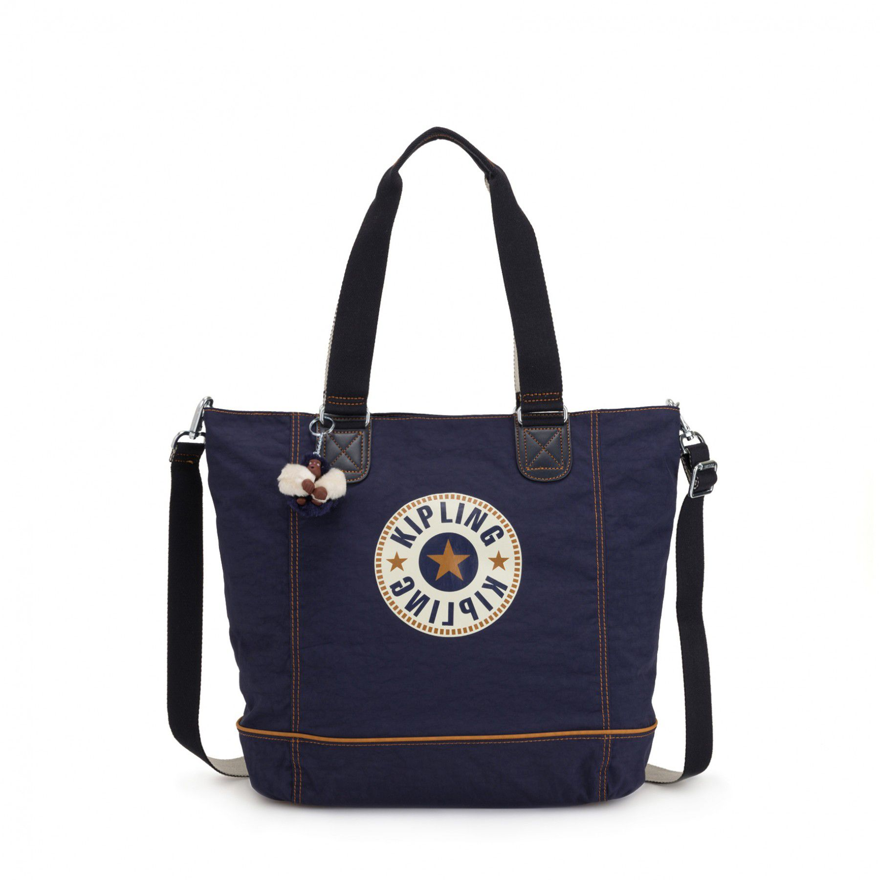 Bolsa Grande Shopper C Kipling Active Blue