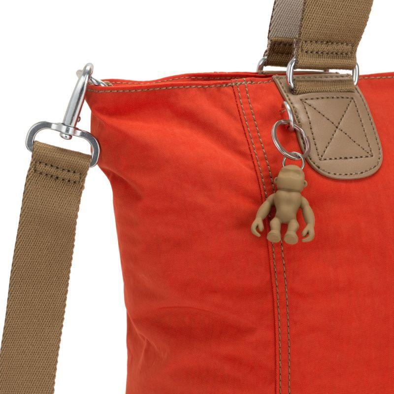 Bolsa Grande Shopper C  Kipling  Funky Orange