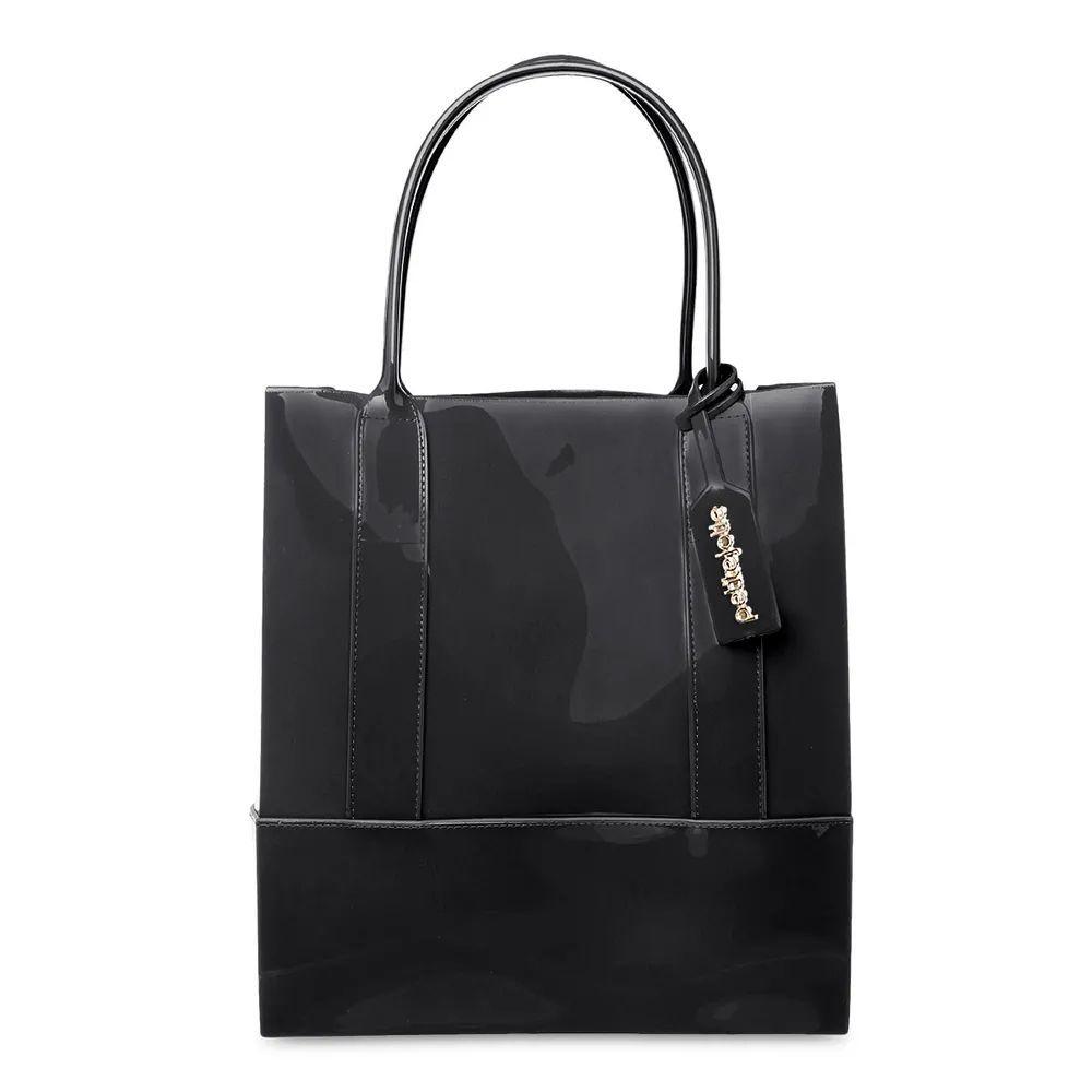 Bolsa Grande Shopper Petite Jolie PJ4999 Preta