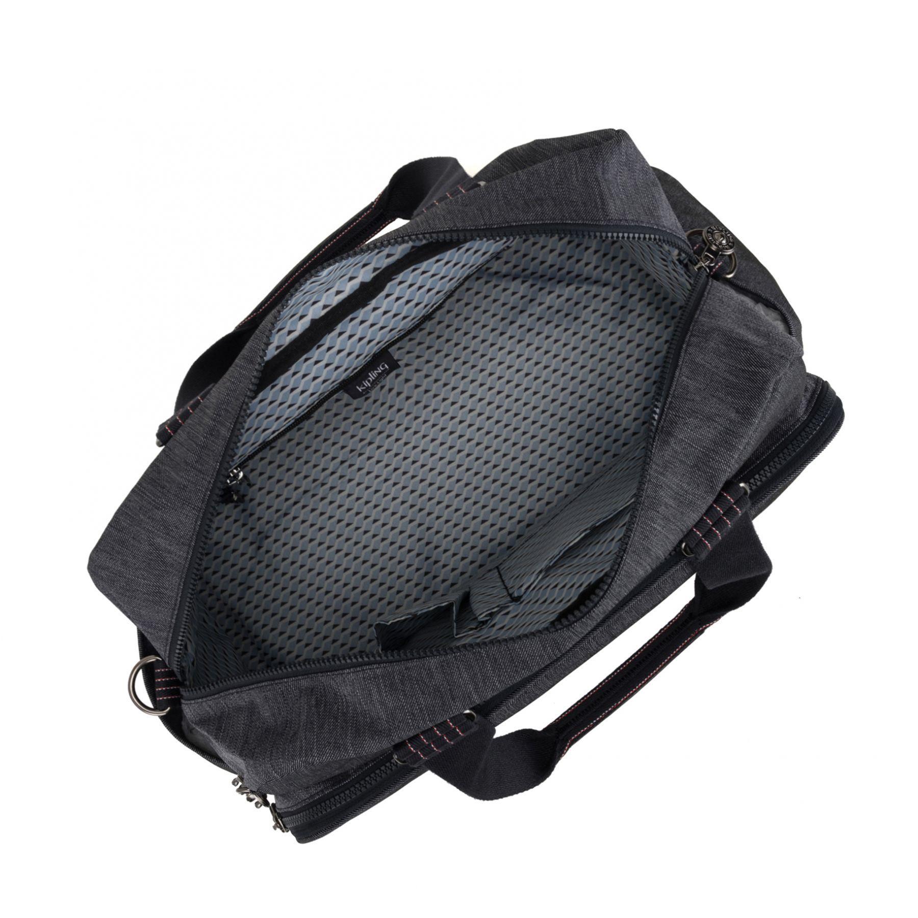 Bolsa Grande Viagem Kipling July Bag Black Indigo