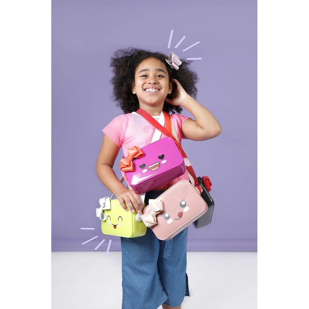 Bolsa Infantil Petite Jolie Pop Verde Abacate/Branco PJ10011IN