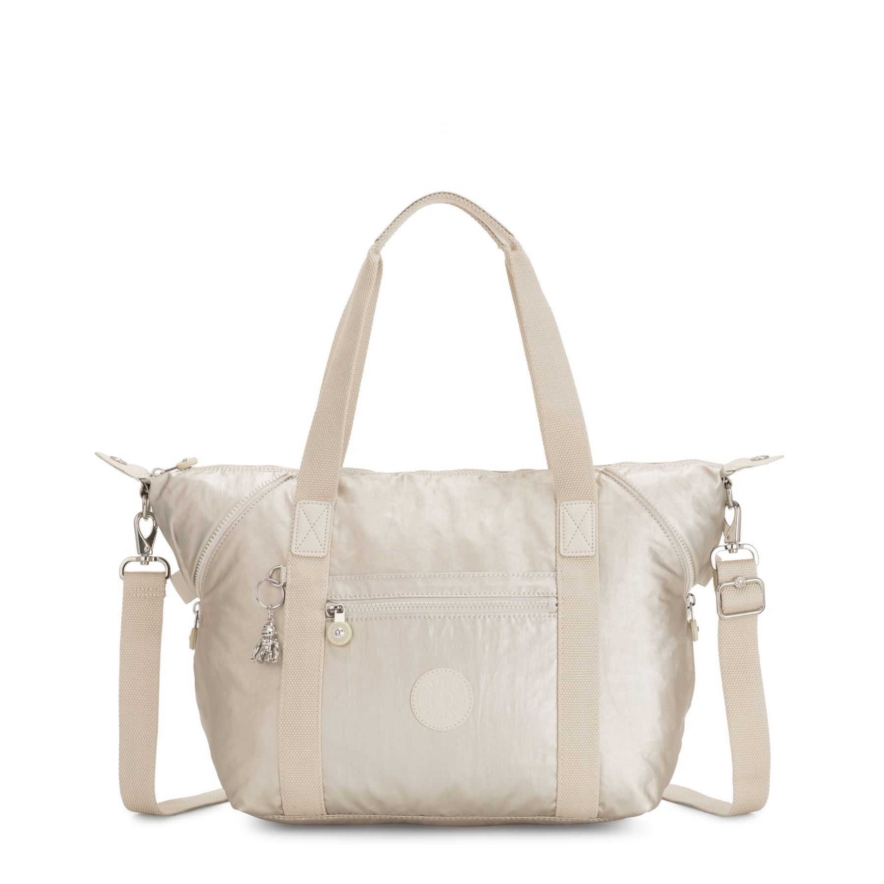 Bolsa Kipling Art M Cloud Metal
