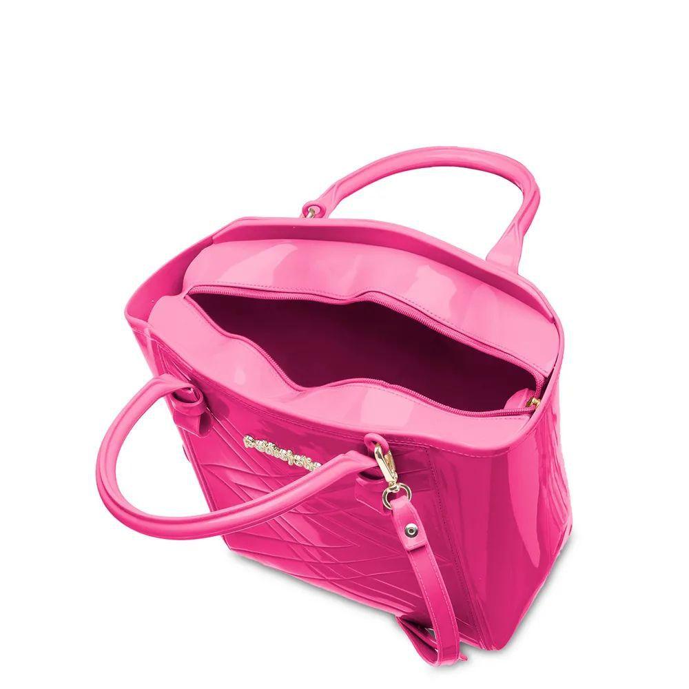 Bolsa Média Shape Petite Jolie PJ4778 Pink