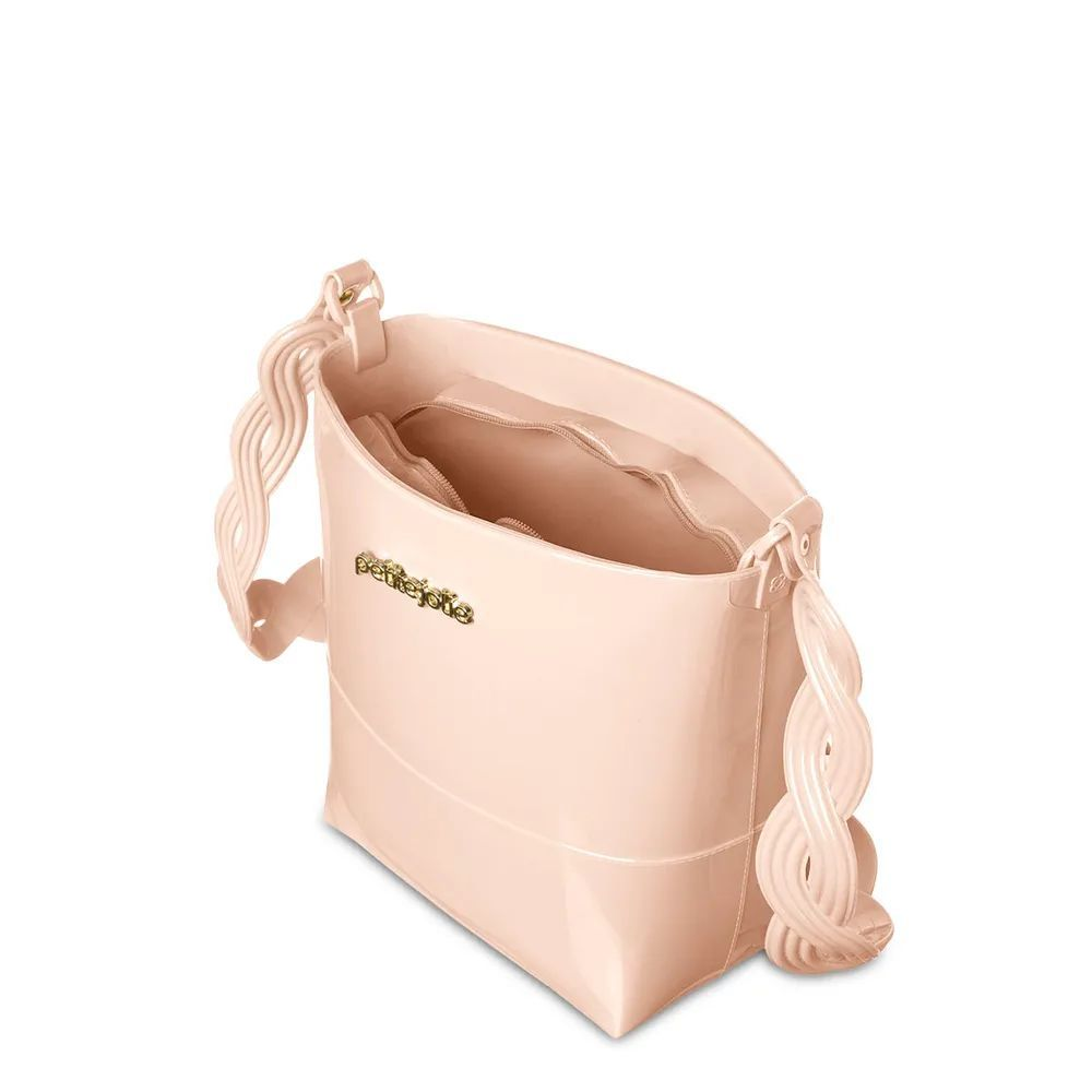 Bolsa Média Tiracolo Easy Petite Jolie PJ4555 Nude