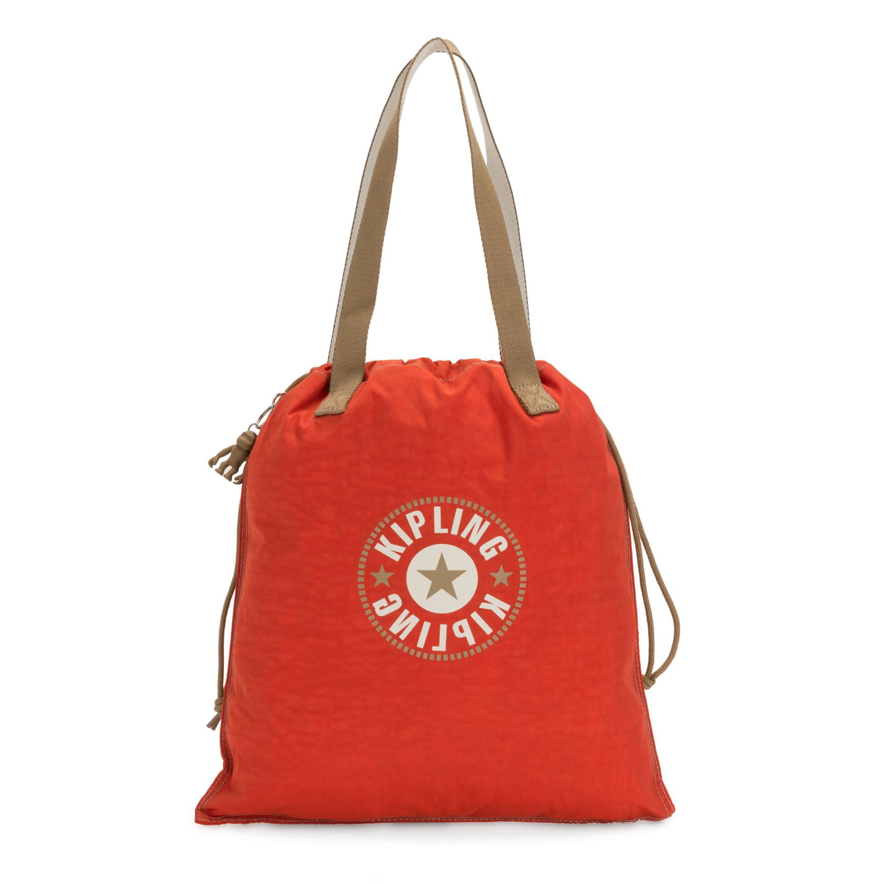 Bolsa Ombro Kipling New Hiphurray Funky Orange