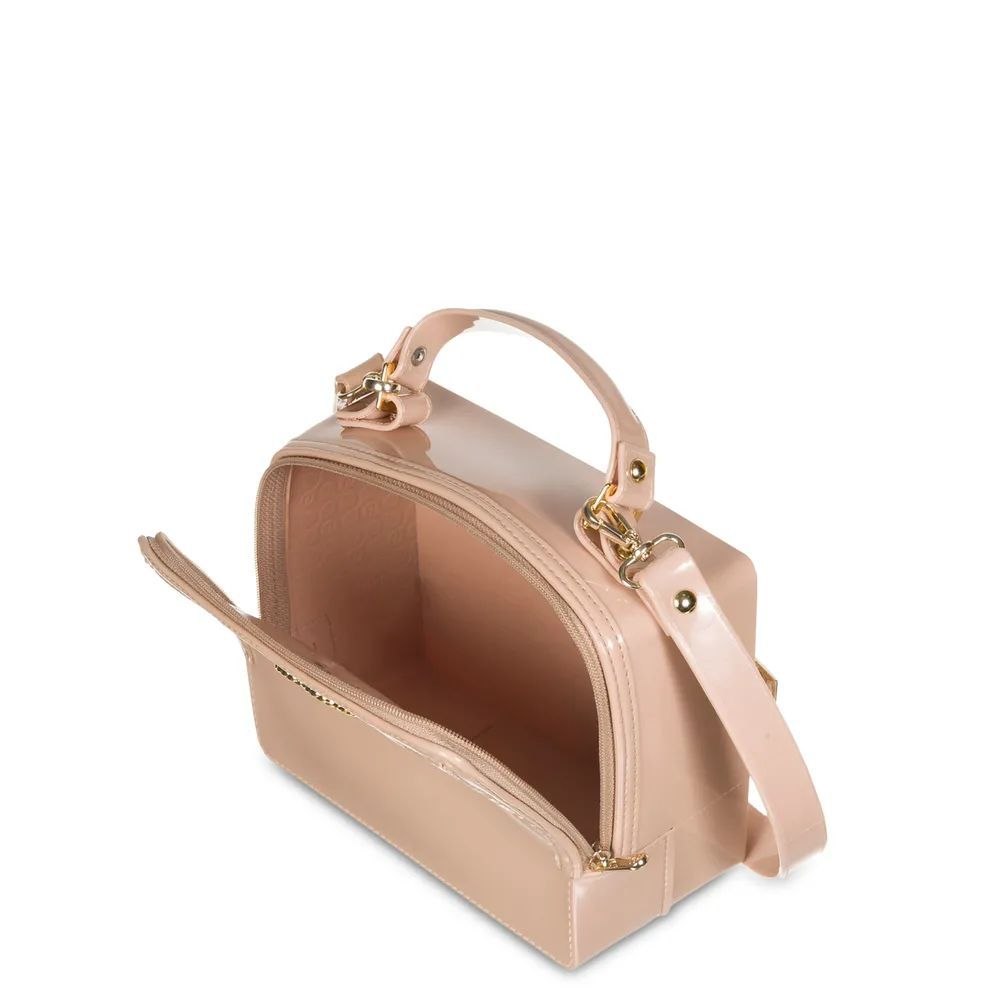 Bolsa Pequena Box Petite Jolie Pj4573 Nude