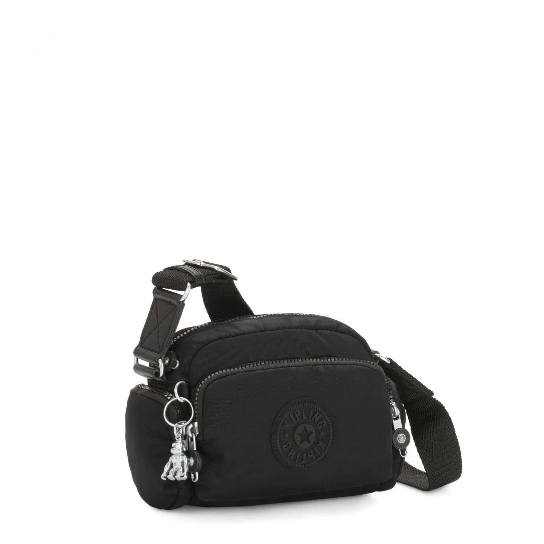Bolsa Pequena Jenera Kipling Rich Black