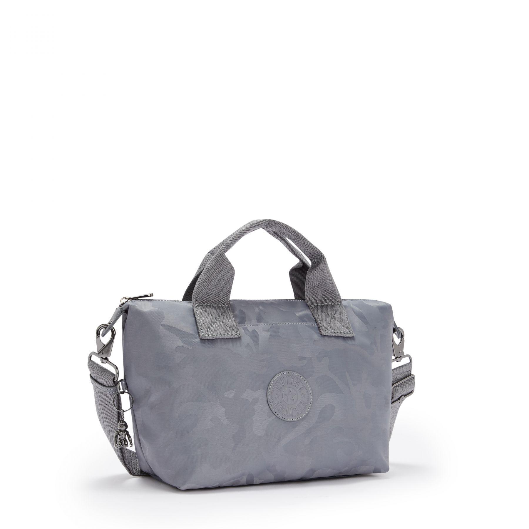 Bolsa Pequena Kala Kipling Grey Camo Jq