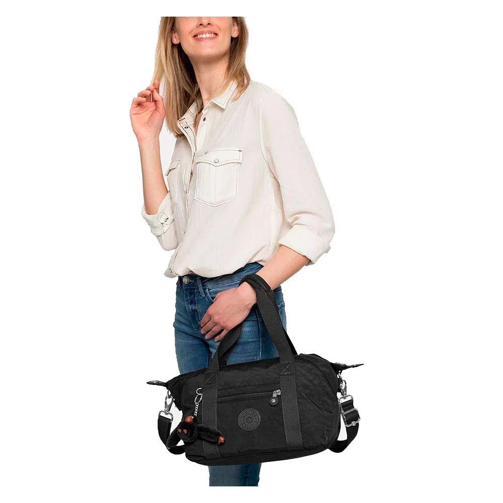 Bolsa Pequena Kipling Art Mini True Black