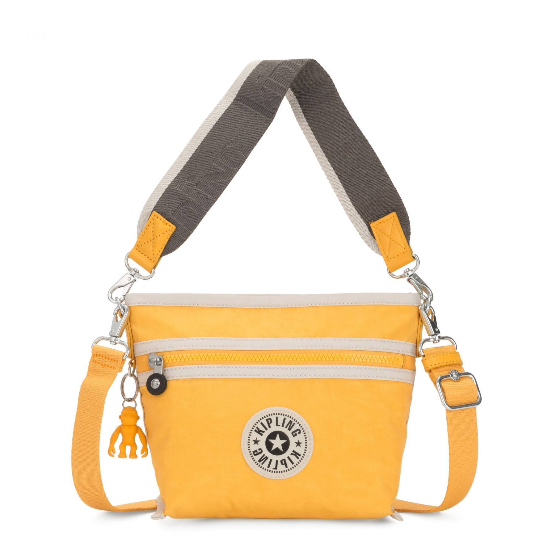 Bolsa Pequena Kipling Menta Vivid Yellow