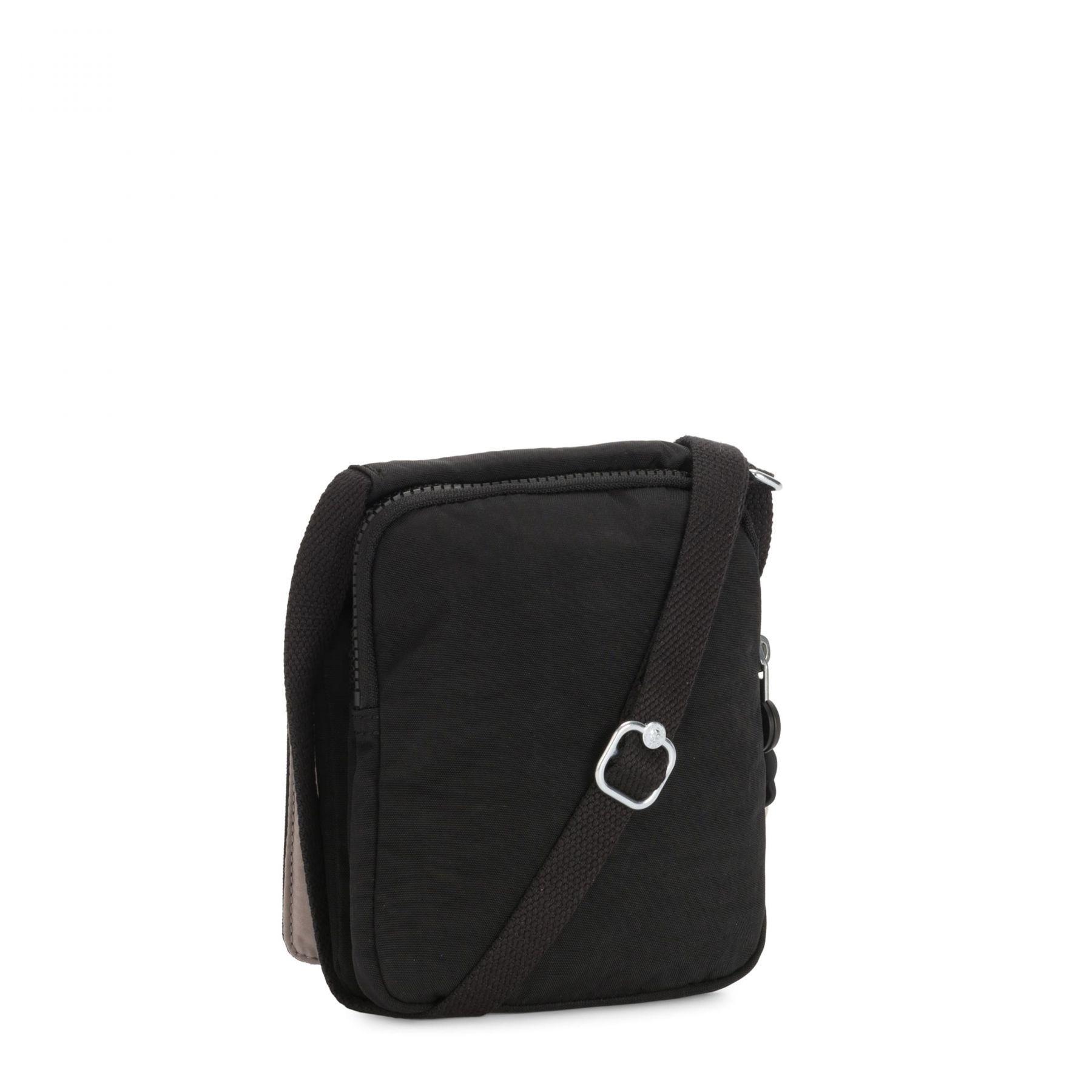 Bolsa Pequena Kipling New Eldorado Black Noir