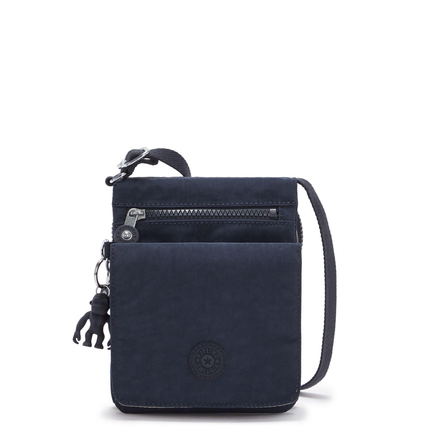 Bolsa Pequena Kipling New Eldorado Blue Bleu 2