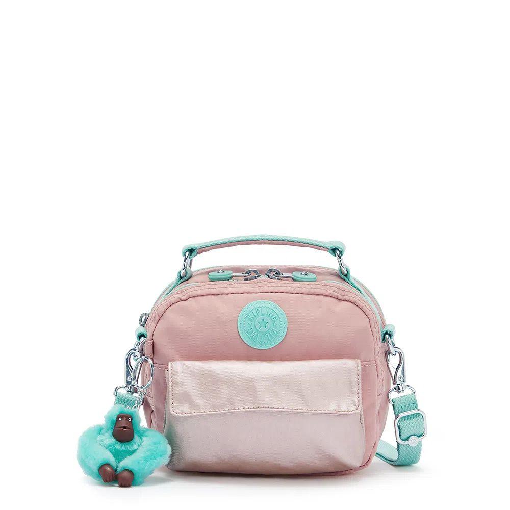 Bolsa Pequena Kipling Puck Cotton Candy Bl