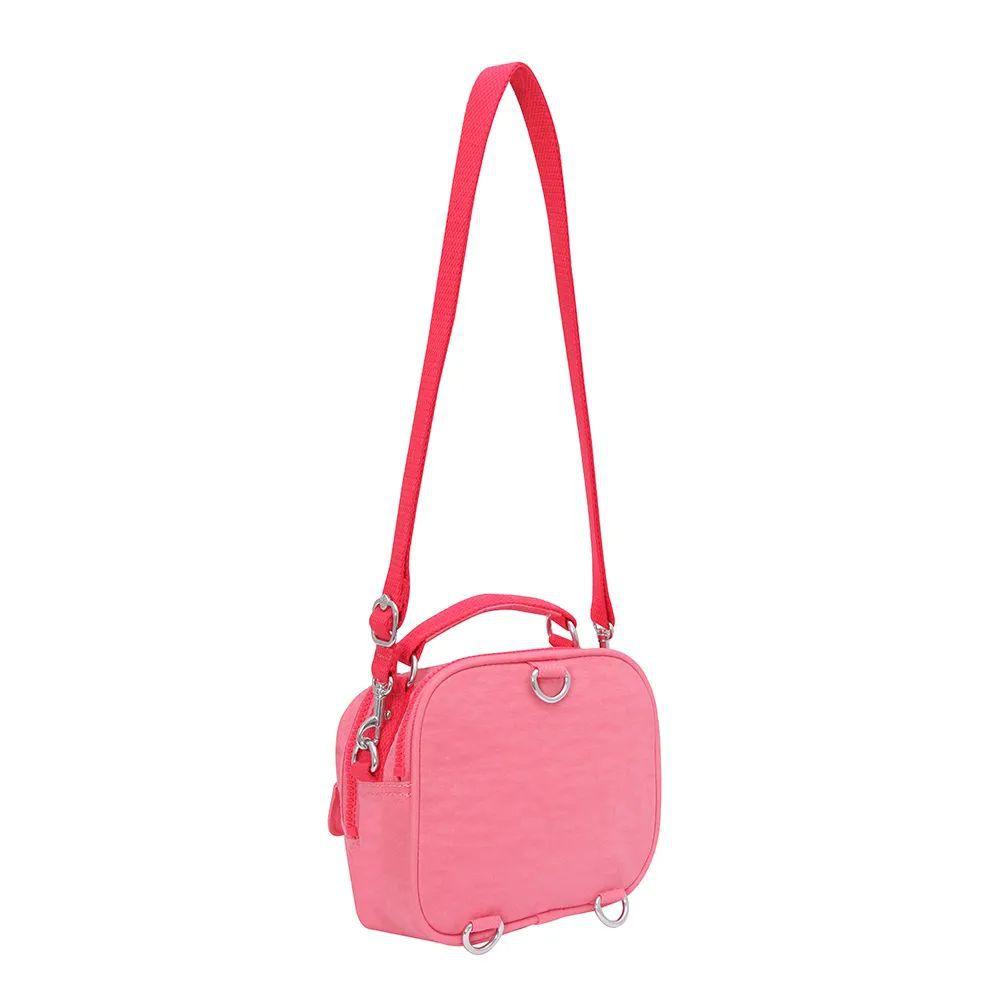 Bolsa Pequena Kipling  Puck Pink Fiesta