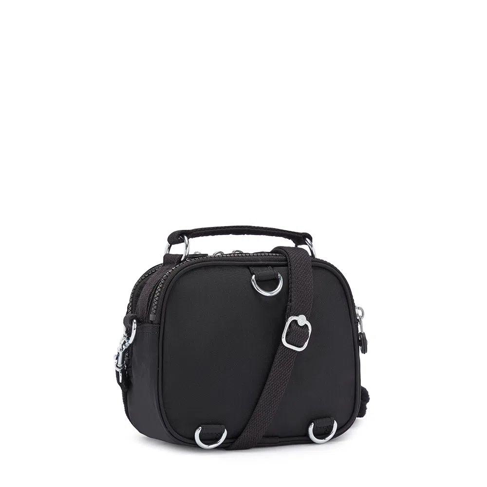 Bolsa Pequena Kipling Puck True Black
