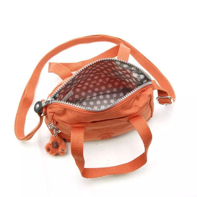 Bolsa Pequena Leike Kipling Spicy Orange