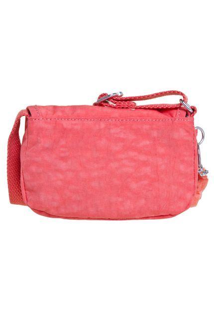 Bolsa Pequena Melgo Kipling  Pink Coral