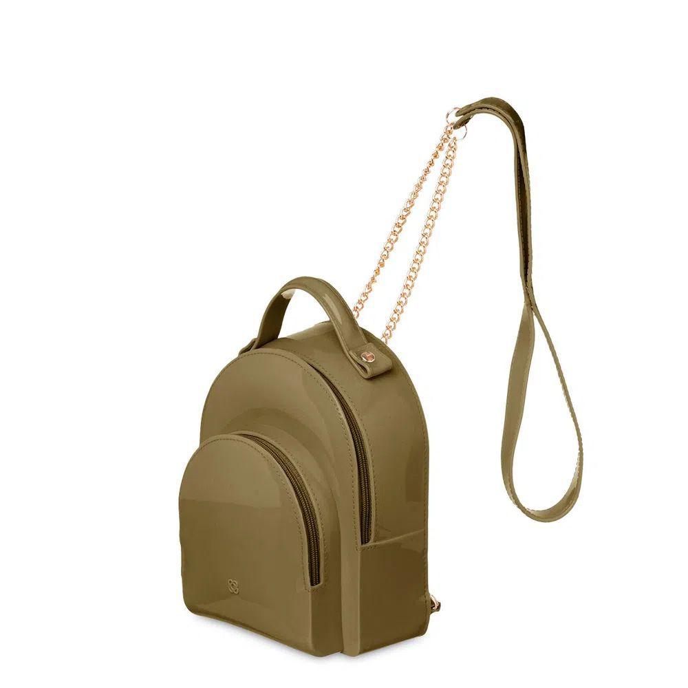 Bolsa Pequena Petite Jolie Little PJ5009 Verde Militar