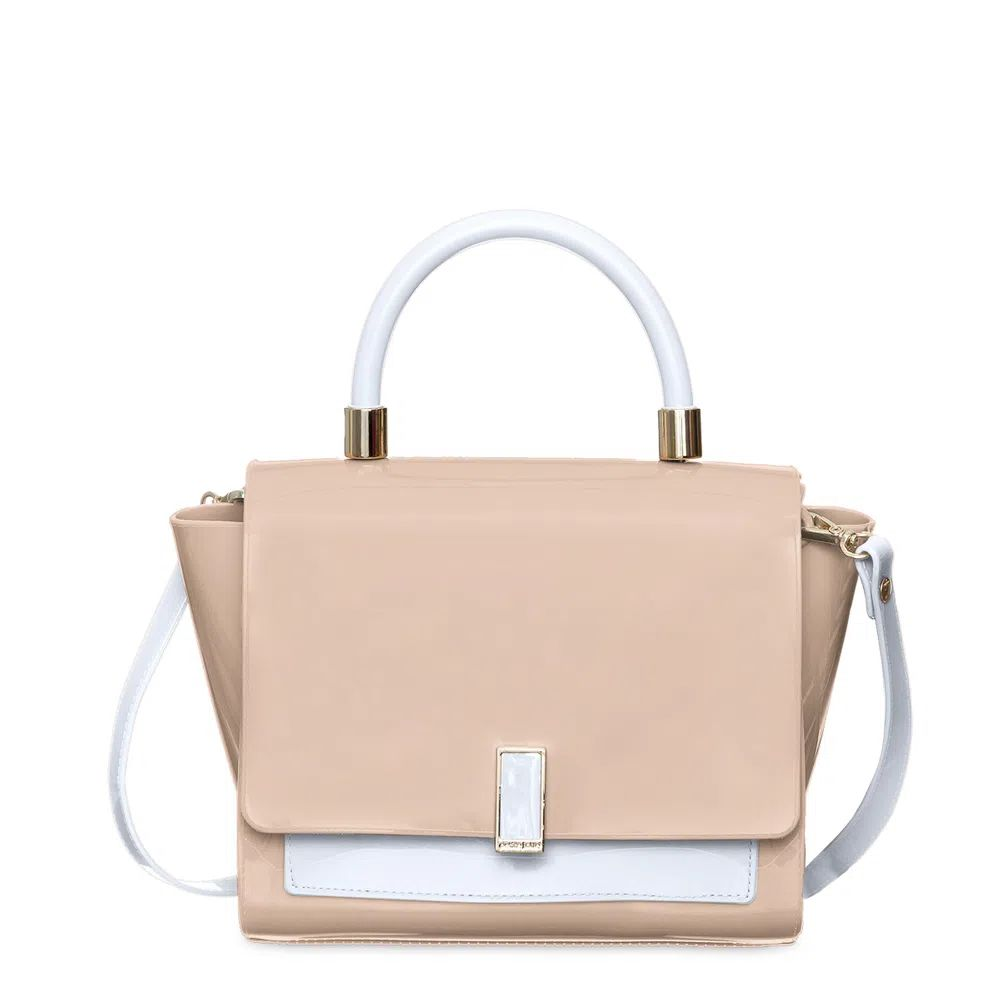 Bolsa Pequena Petite Jolie Match Nude Branco  PJ5266