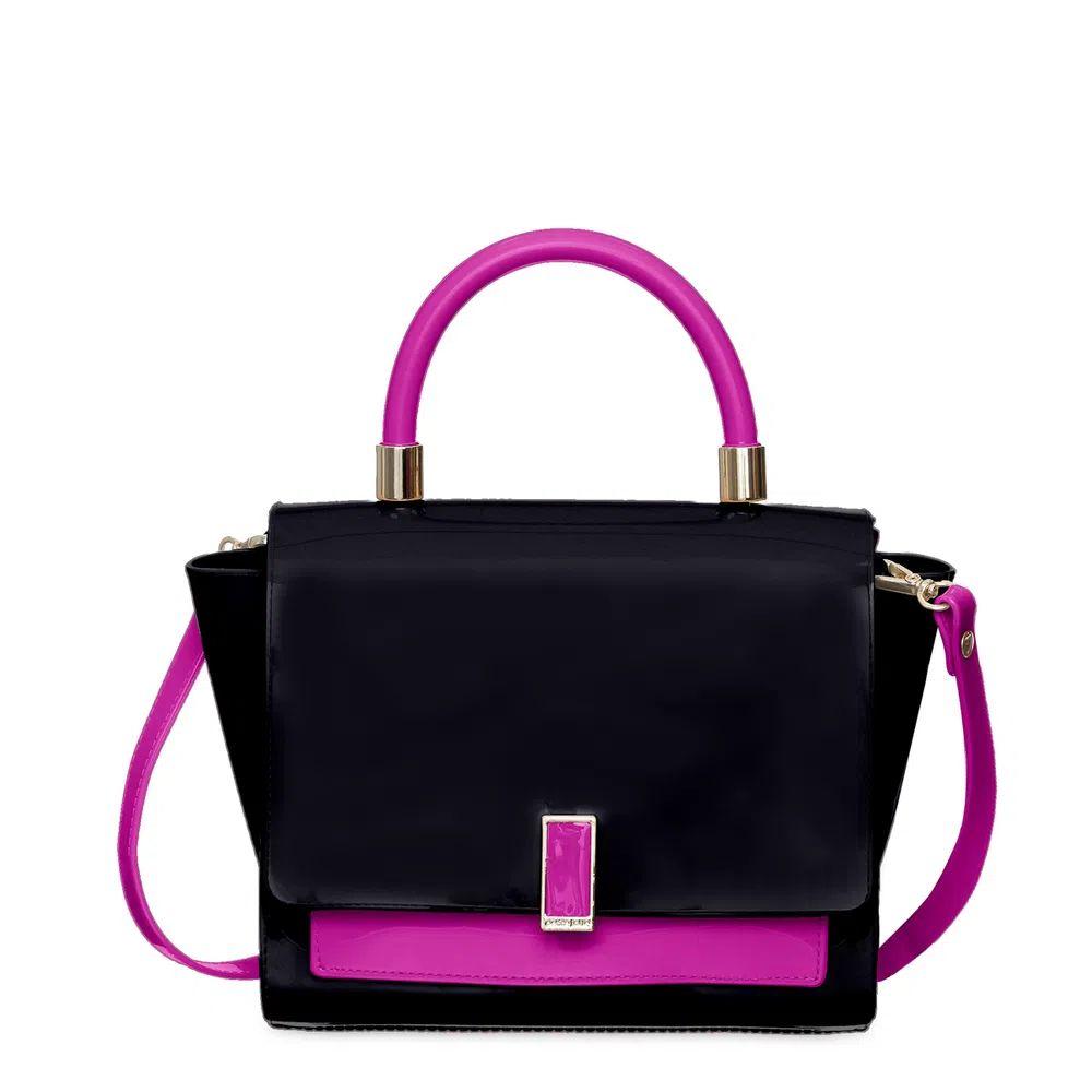 Bolsa Pequena  Petite Jolie Match Preto/Pink  PJ5266