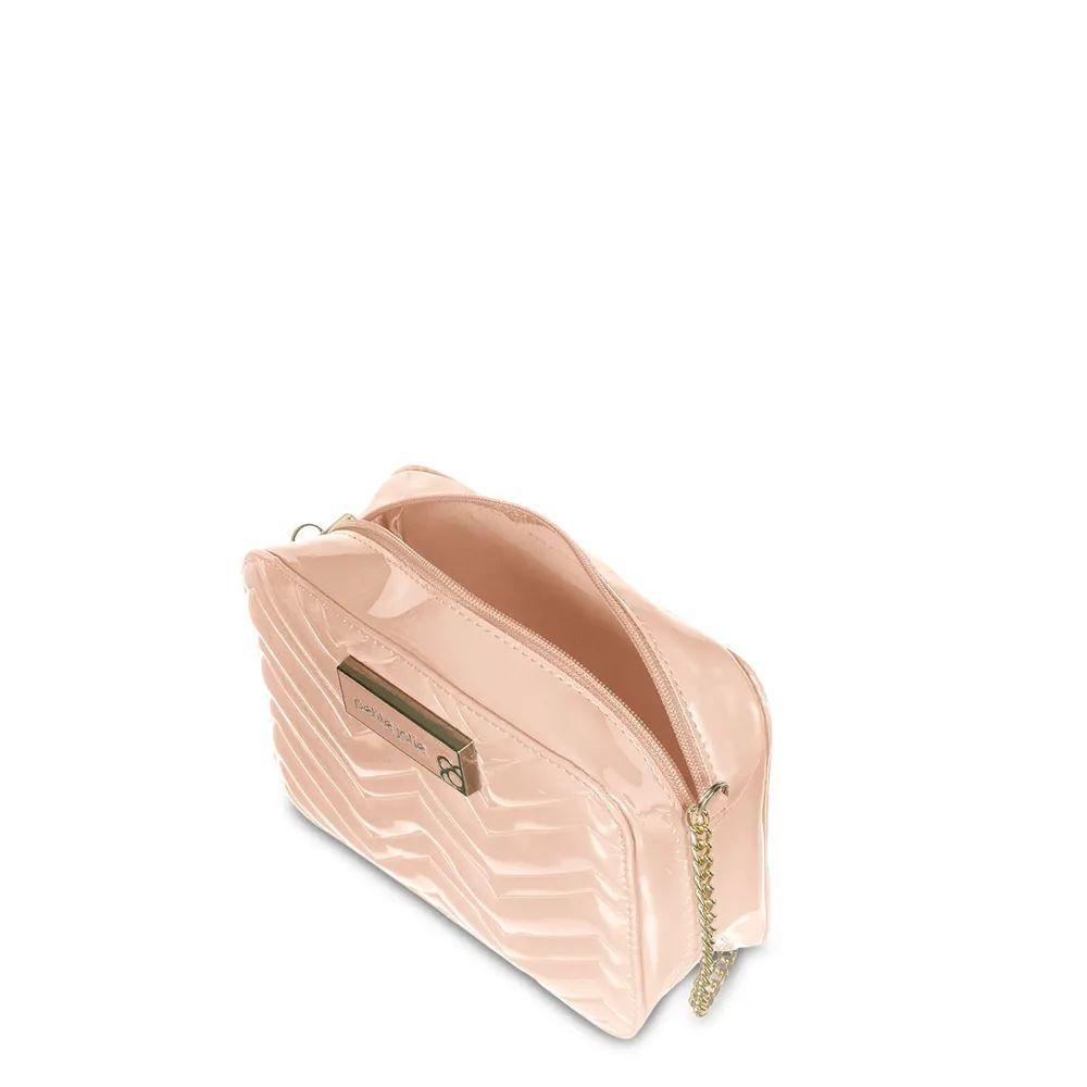 Bolsa Pequena Petite Jolie Nic Pj3957  Cor Nude