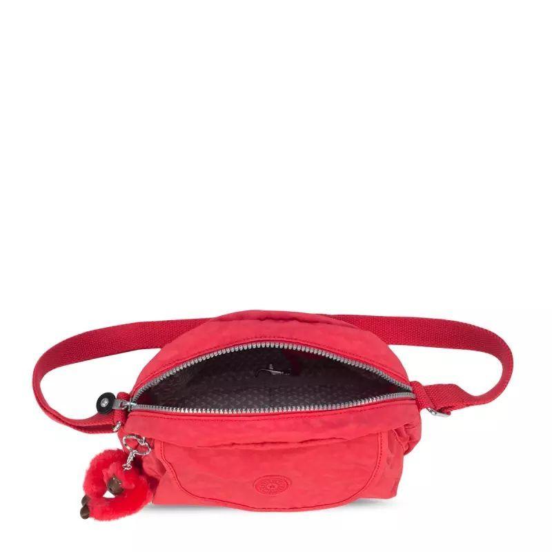 Bolsa Pequena Stelma Kipling Poppy Red
