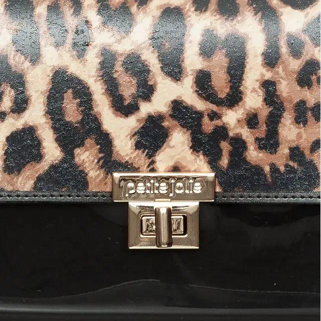 Bolsa Pequena Transversal  Petite Jolie PJ10126  Preto