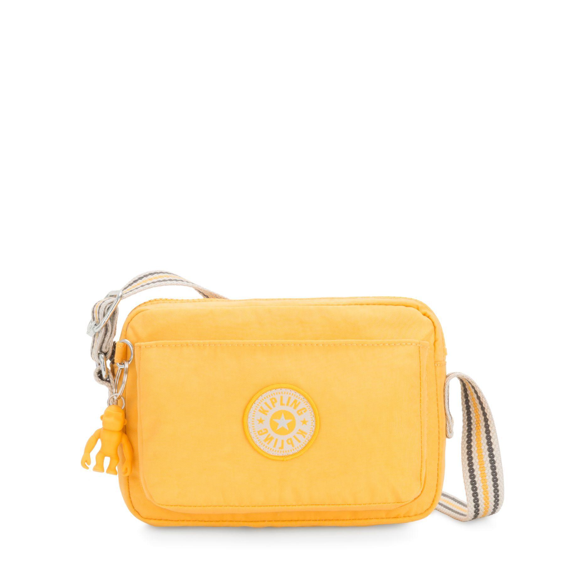 Bolsa Pequena Transversal Abanu Kipling Vivid Yellow