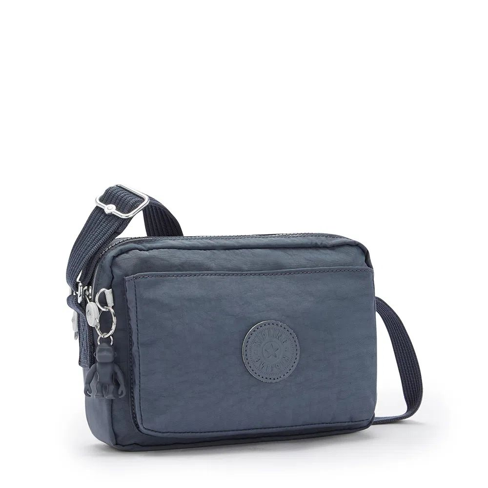 Bolsa Pequena Transversal Kipling Abanu Grey Slate