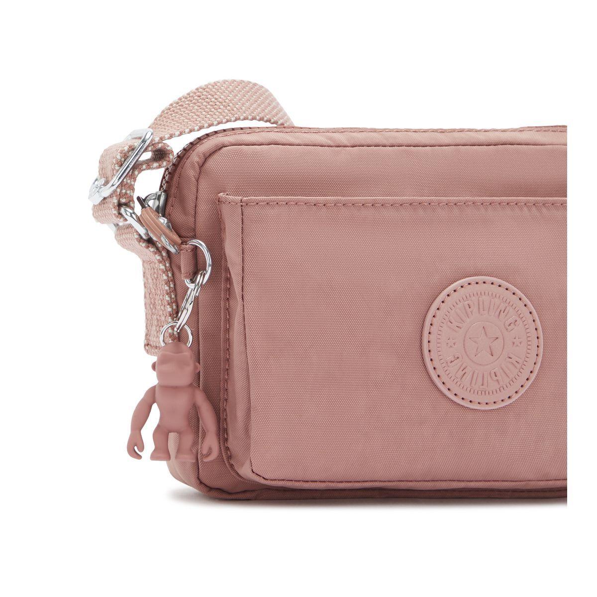 Bolsa Pequena Transversal Kipling Abanu Kind Rose