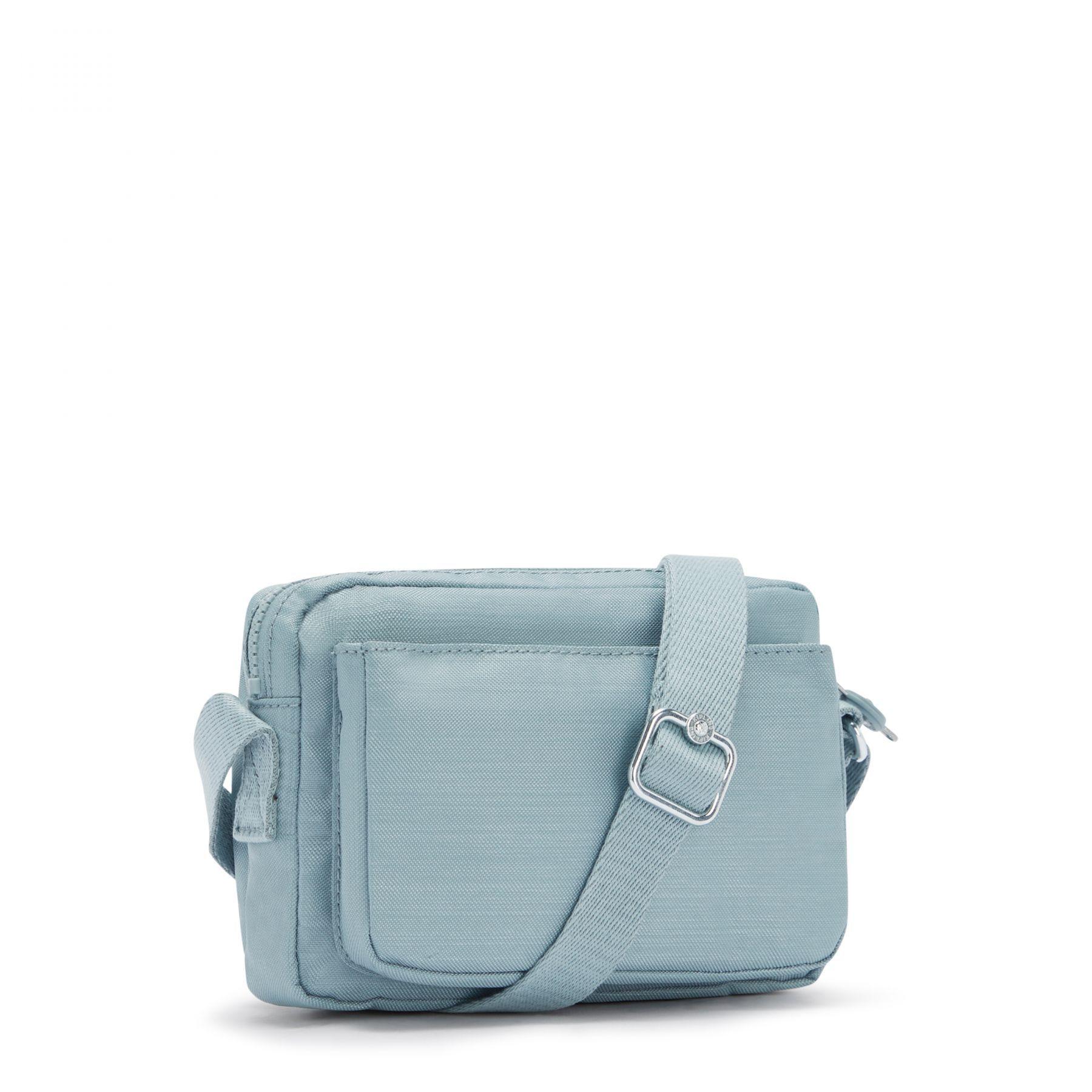 Bolsa Pequena Transversal Kipling Abanu Sea Gloss