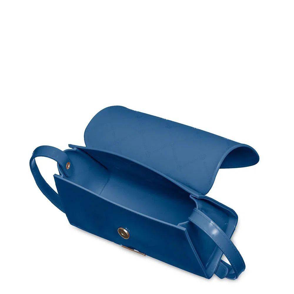 Bolsa Pequena Transversal Petite Jolie Alicia Azul Jeans  PJ10087