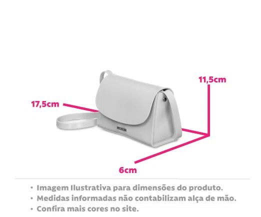 Bolsa Pequena Transversal Petite Jolie Alicia Bordo  PJ10087