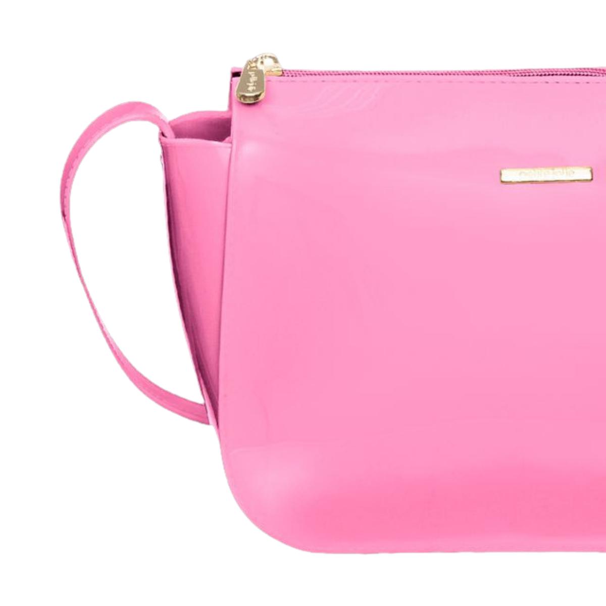 Bolsa Petite Jolie Brooklin PJ10066 Rosa Neon