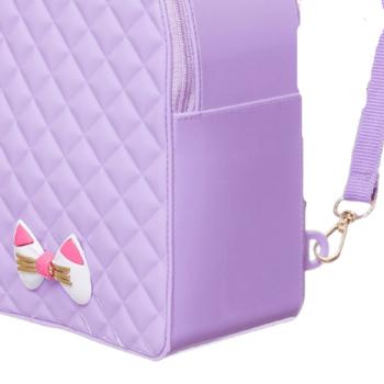 Mochila Infantil Petite Jolie Click PJ10246IN Lilas Lavanda / Rosa Neon