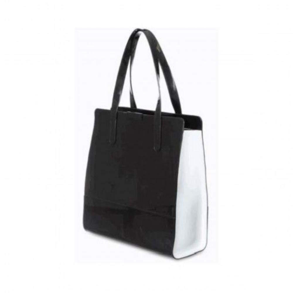 Bolsa Petite Jolie Dots Preto com Branco PJ5136