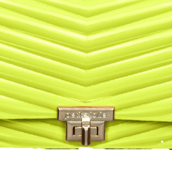 Bolsa Petite Jolie Hanna PJ10212 Amarelo Neon