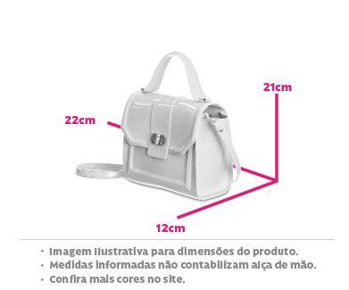 Bolsa Petite Jolie London PJ10229 Rosa Antigo / Branco