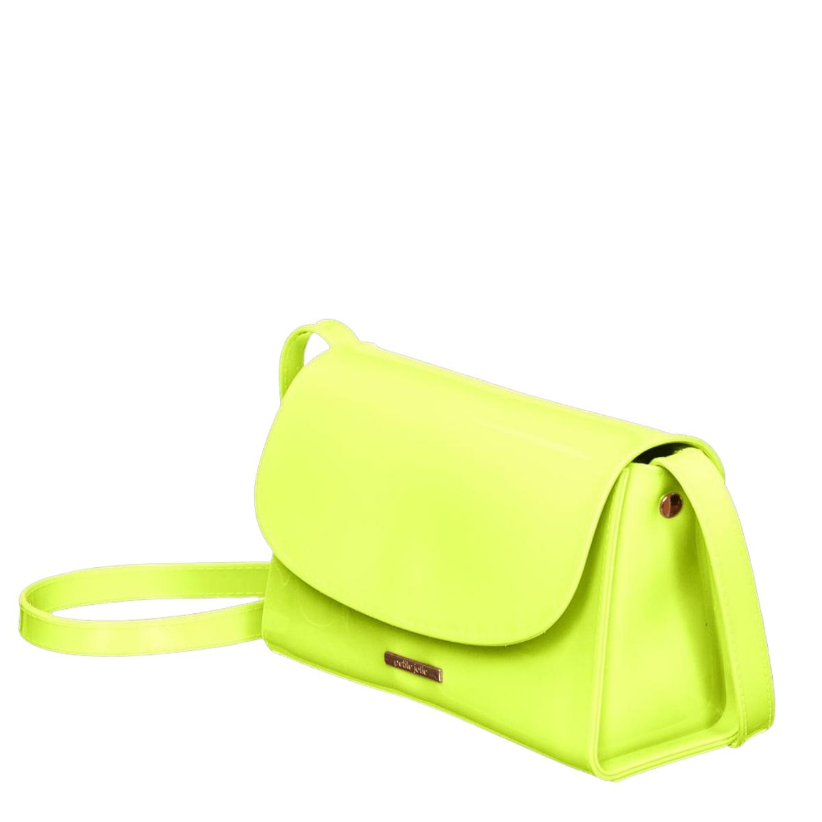 Bolsa Petite Jolie PJ10087 Alicia Amarelo Neon