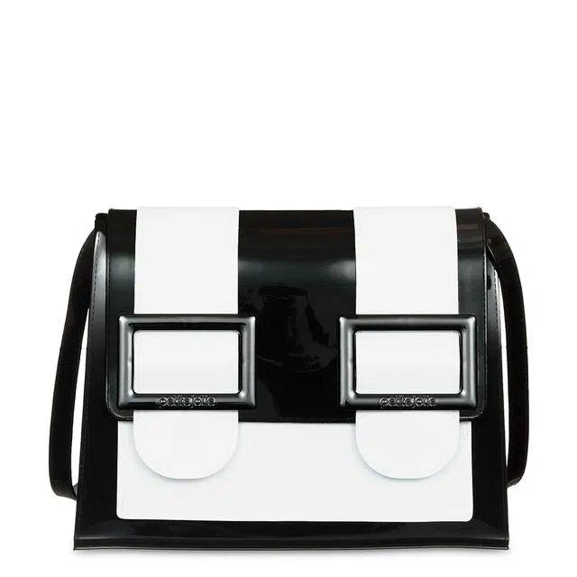 Bolsa Petite Jolie PJ10121 Bing  Preto / Branco