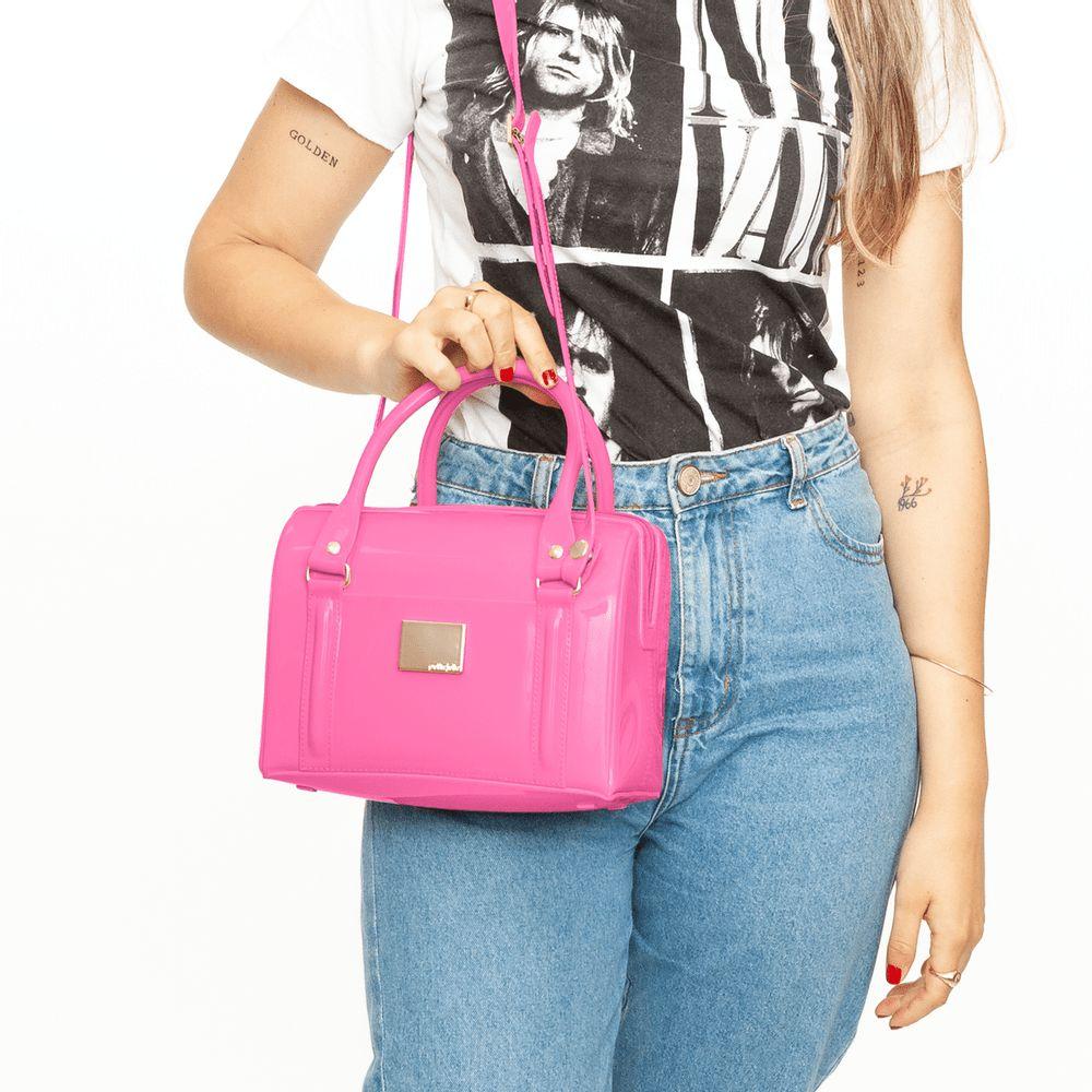 Bolsa Petite Jolie PJ10142 Lana Rosa Neon / Rosa Neon