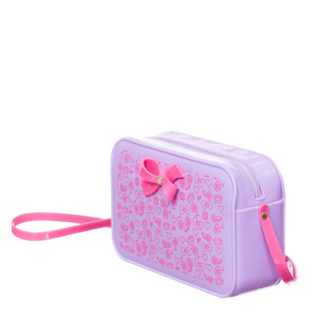 Bolsa Petite Jolie POP PJ10252IN Lilas Lavanda / Rosa Neon