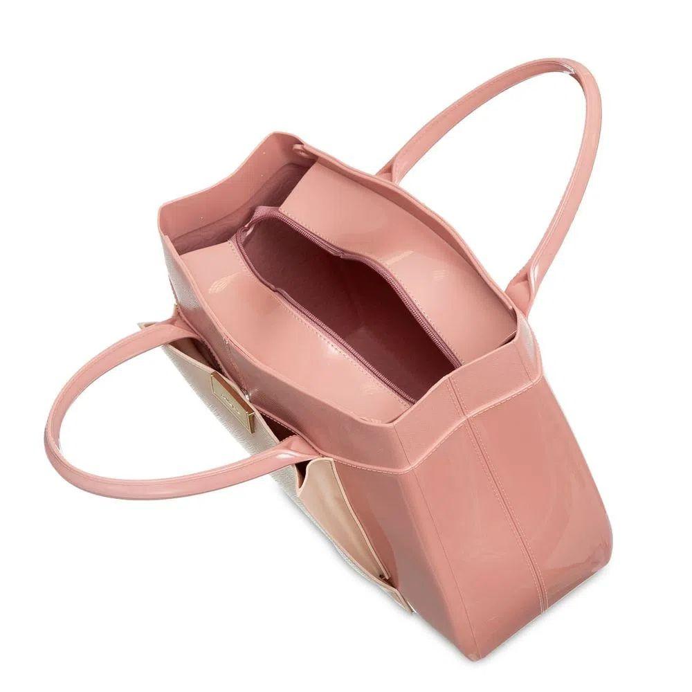 Bolsa Petite Jolie Worky Rosê/Nude PJ10052