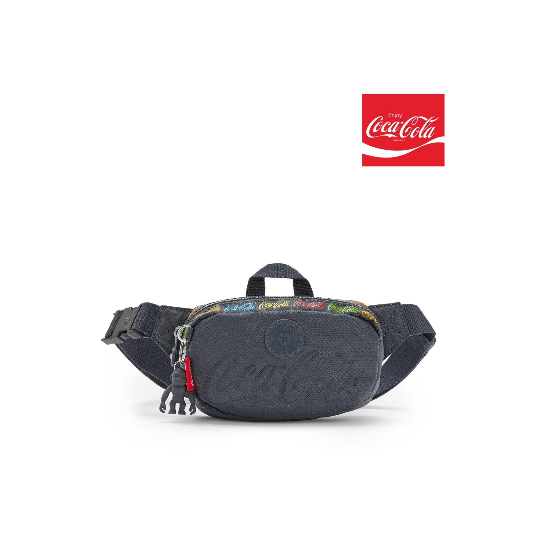 Bolsa Pochete transversal Kipling Alys Coca Cola Graphics