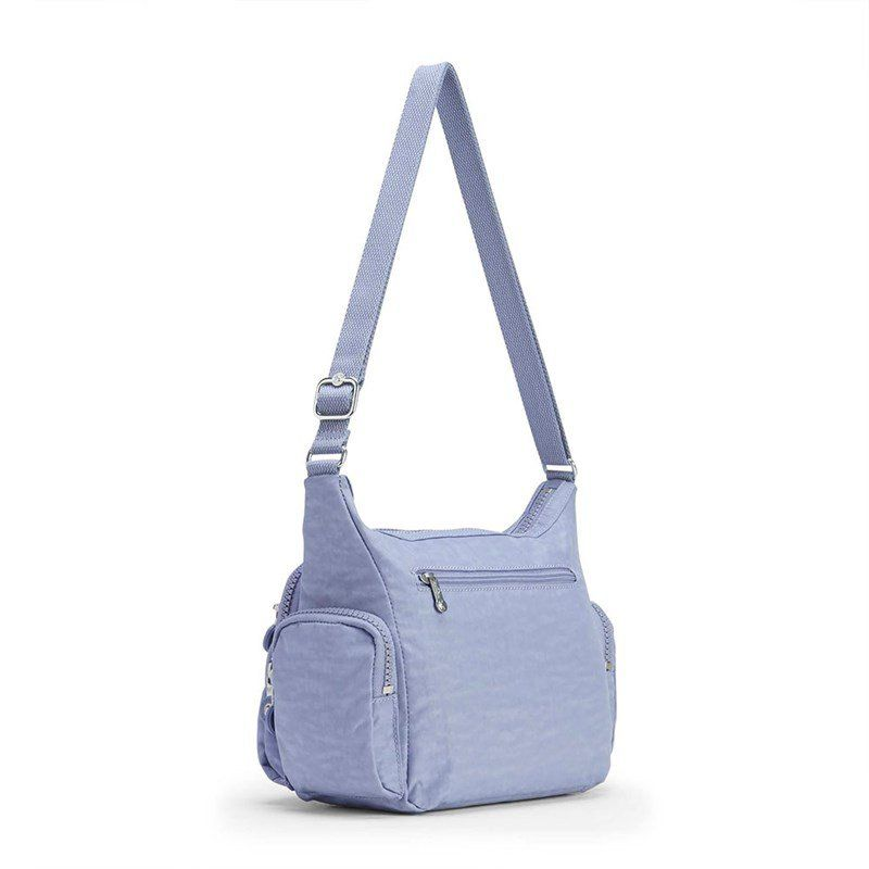 Bolsa Transversal Kipling Gabbie S Timid Blue Azul