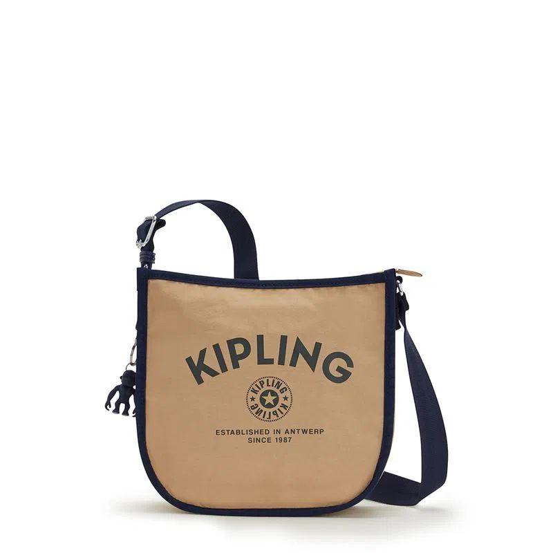 Bolsa Transversal Patsy Kipling Vibrant Beige M