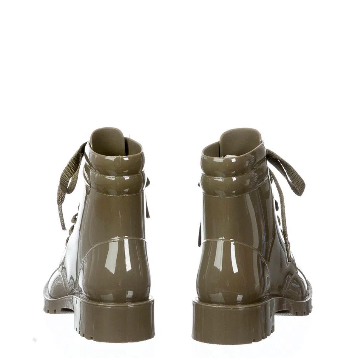 Bota Coturno cano curto Petite Jolie Iggy PJ4995 Verde Militar