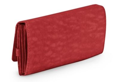 Carteira Grande Brownie Kipling Vibrant Red
