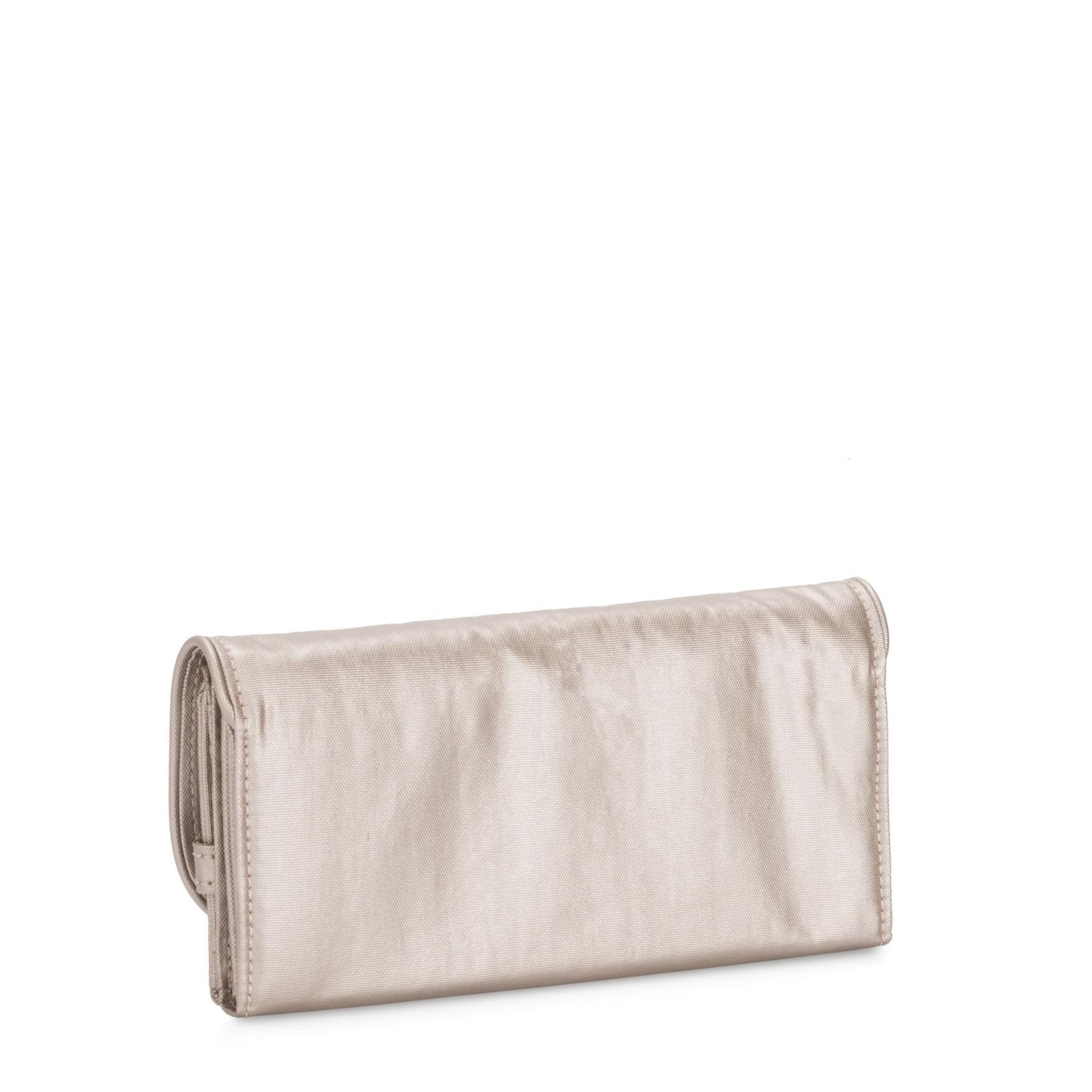Carteira Grande Money Land Kipling  Metallic Glow