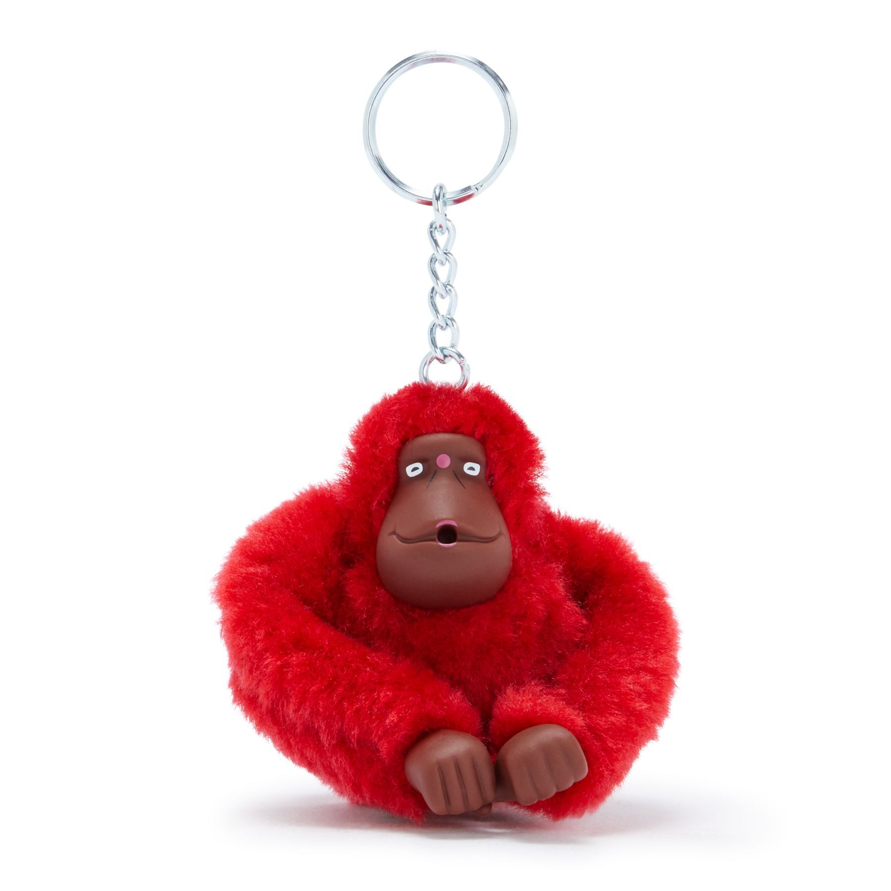 Chaveiro Kipling Monkeyclip M True Pink
